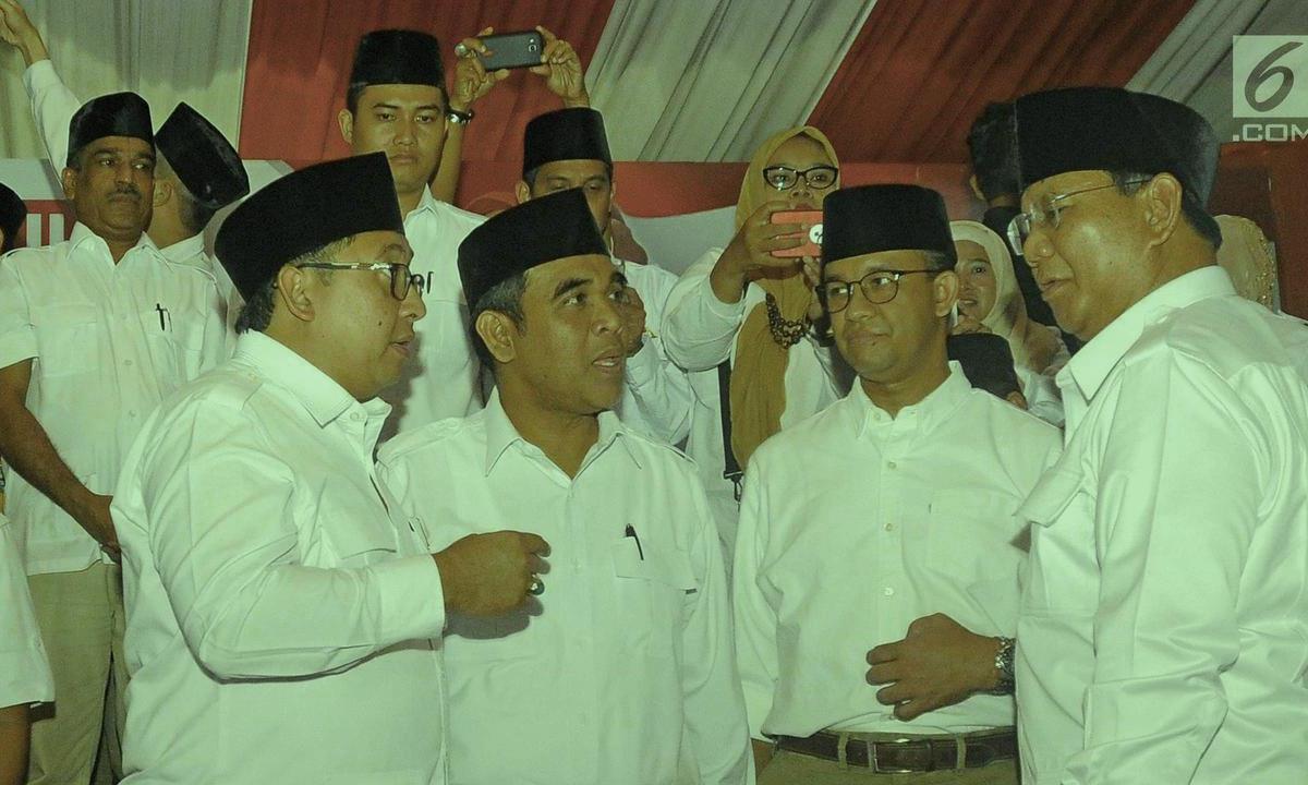 Tidak Ada Cerita Prabowo Minta Jatah Menteri Tutur Fadli John